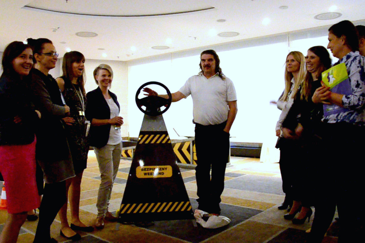 AirBag Symulator - 2 - szkolenie kierowców wynajem