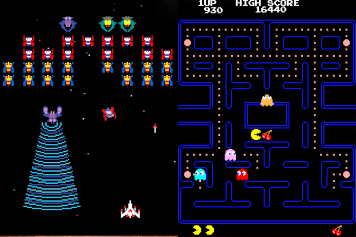 Automaty Arcade - 10 - gry retro na imprezę