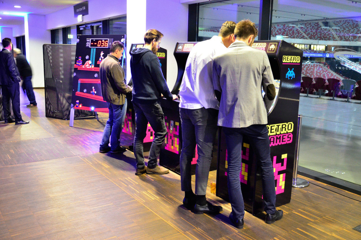 Automaty Arcade - 3 - wynajem na konferencje
