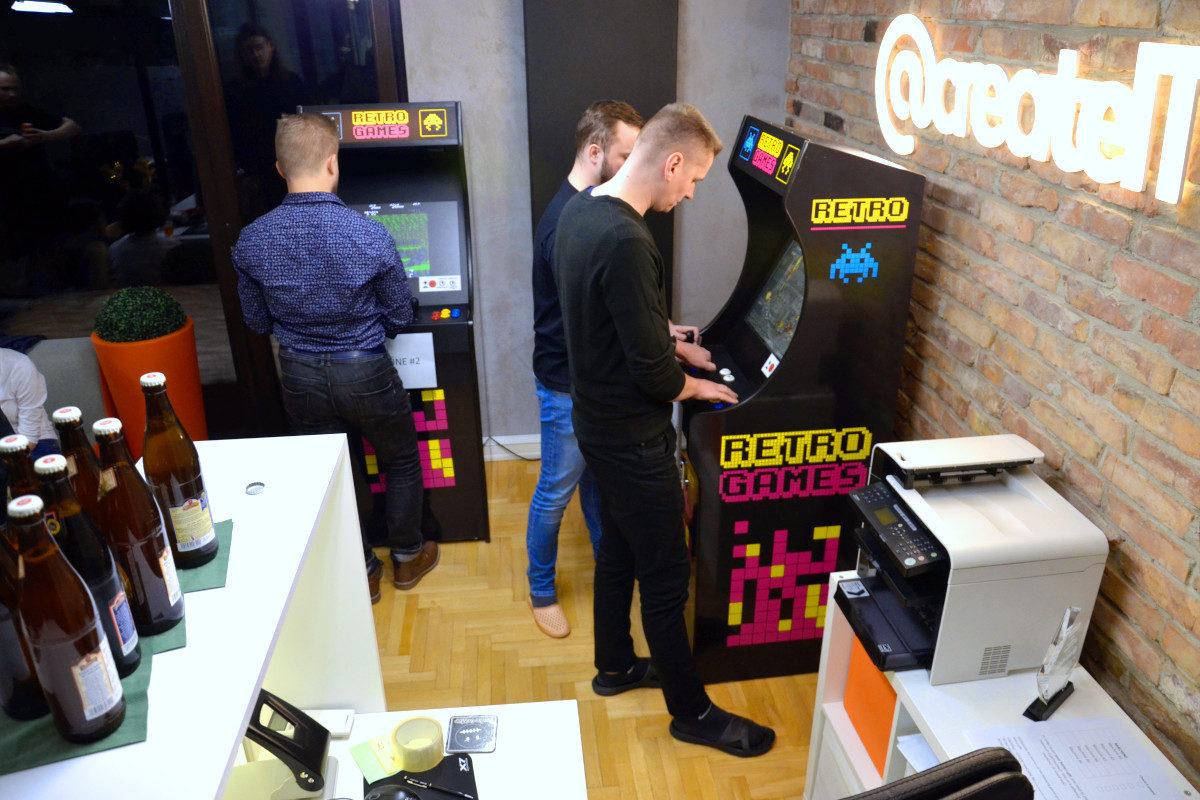 Automaty Arcade - 5 - ciekawe atrakcje na event