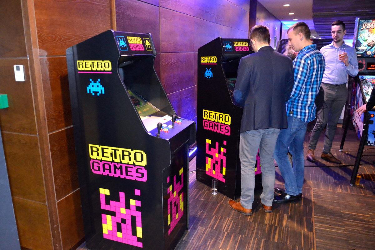 Automaty Arcade Retro - 5 - wynajem na targi poznań cena