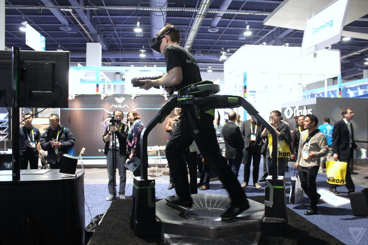 Bieżnia VR wynajem - 1 - imprezy VR gry VR.
