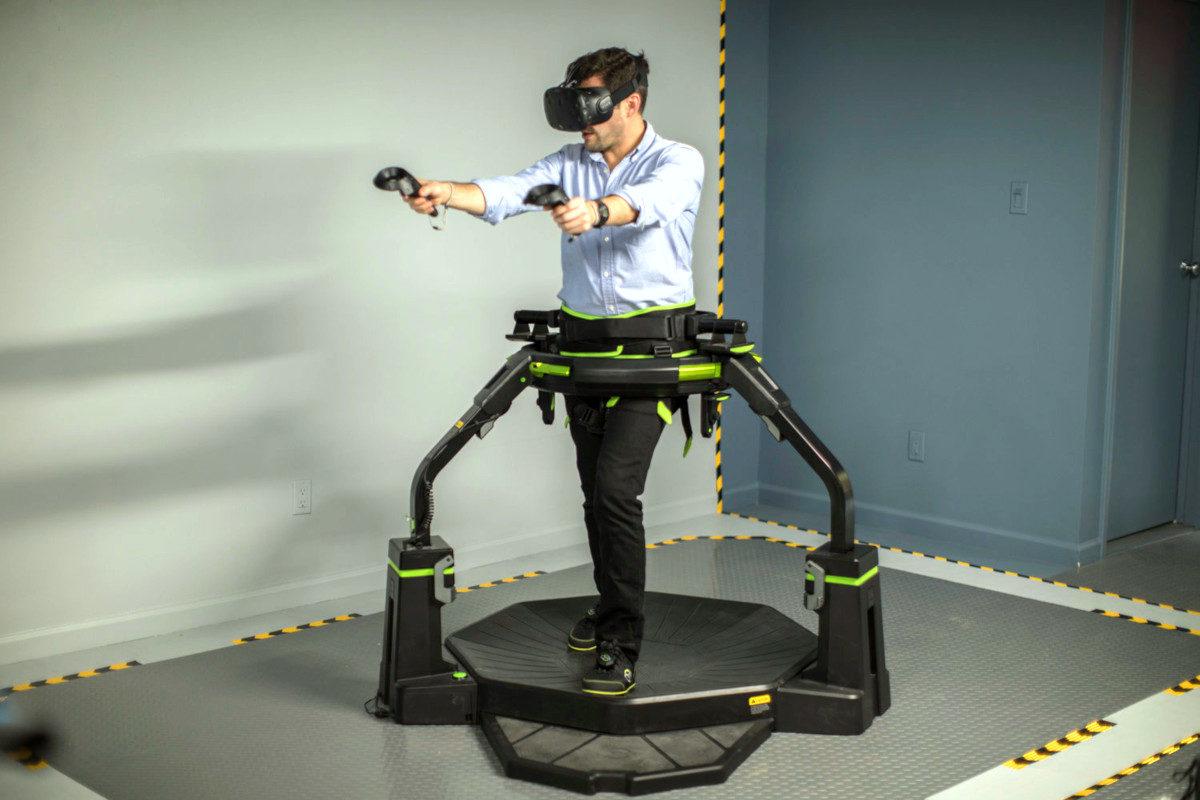 Bieżnia VR wynajem - 3 - atrakcje vr na targi