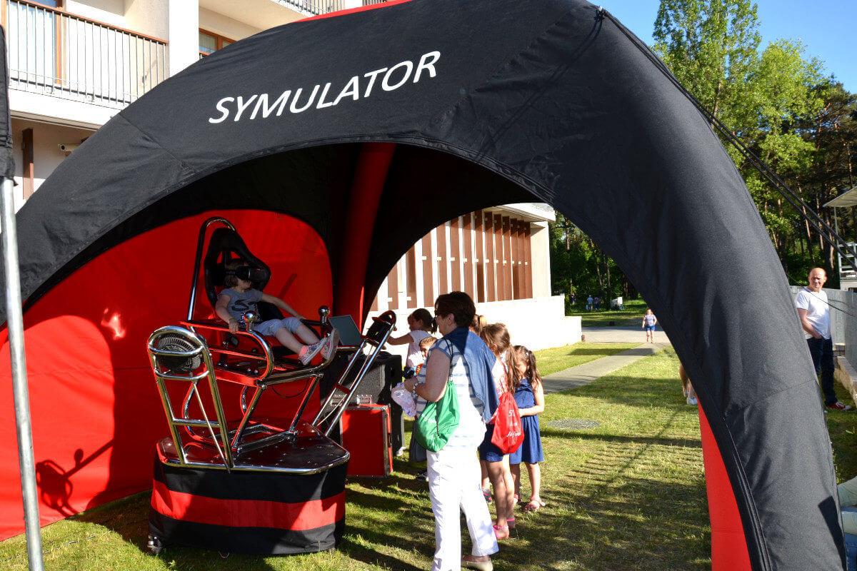 Namiot Iglo - 2 - symulatory na imprezę plenerową
