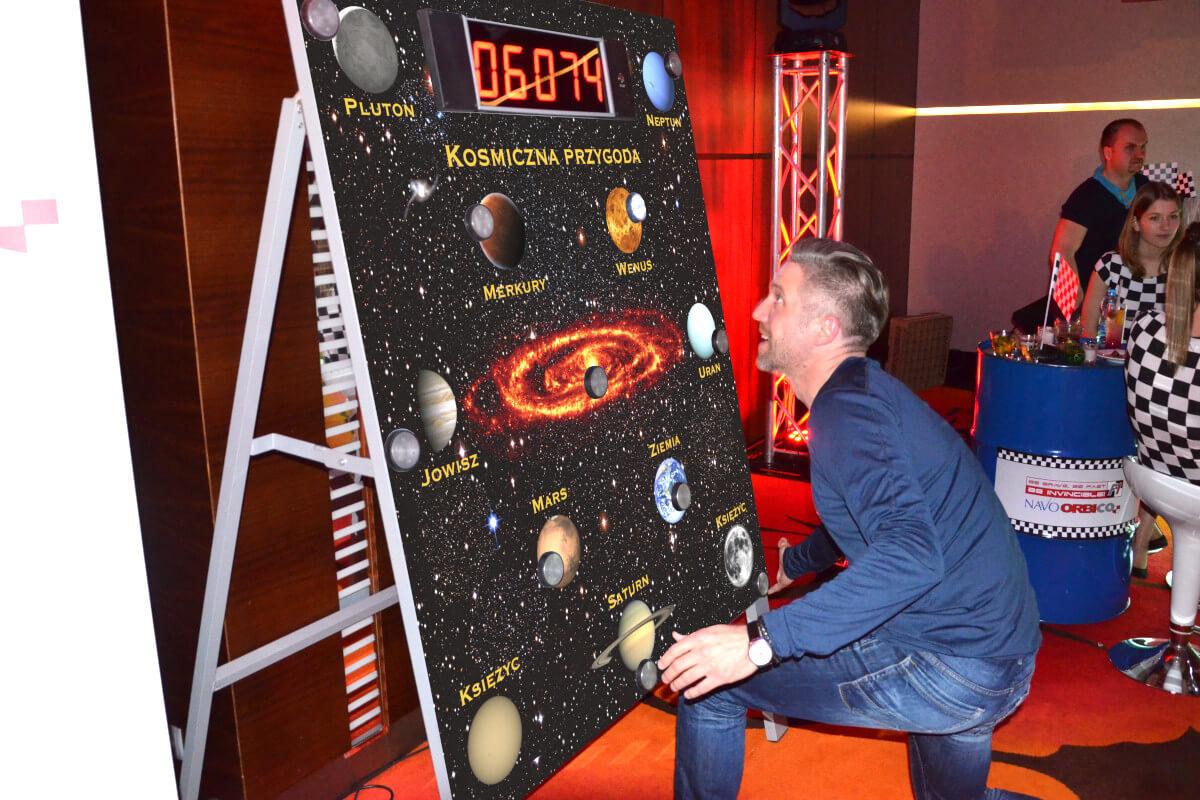 Releksomierz Kosmiczny - 6 - wynajem symulatorów na targi poznań