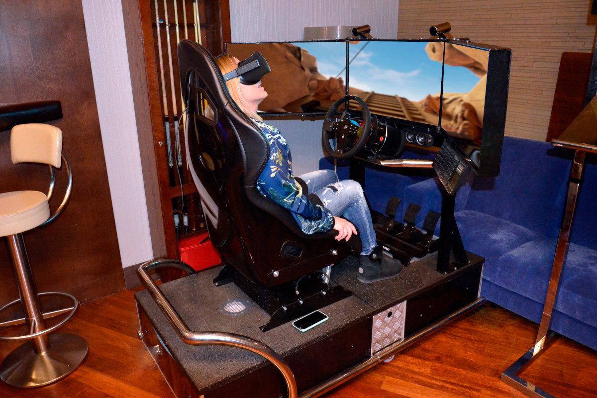 Roller coaster VR 5D - 1 - wynajem atrakcji na impreze firmową