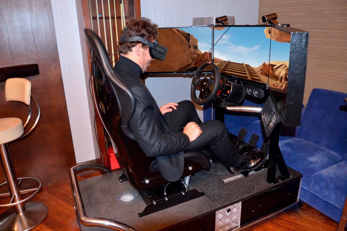 Roller coaster VR 5D - 2 - symulator wynajem na eventy
