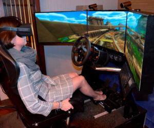 Symulator Roller coaster VR 5D