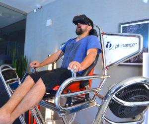 Roller coaster VR 9D - 03 - oculus wynajem ruchomy symulator