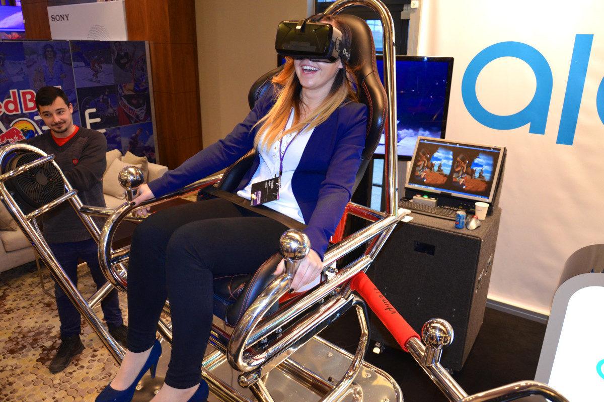Roller coaster VR 9D - 05 - platforma 9D gogle 3D wynajem VR