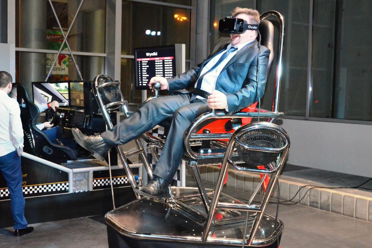 Roller coaster VR 9D - 06 - atrakcje na targi atrakcje vr