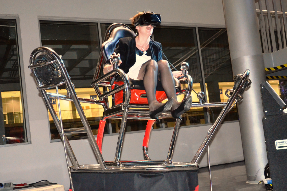 Roller coaster VR 9D - 08 - symulatory na imprezę firmową