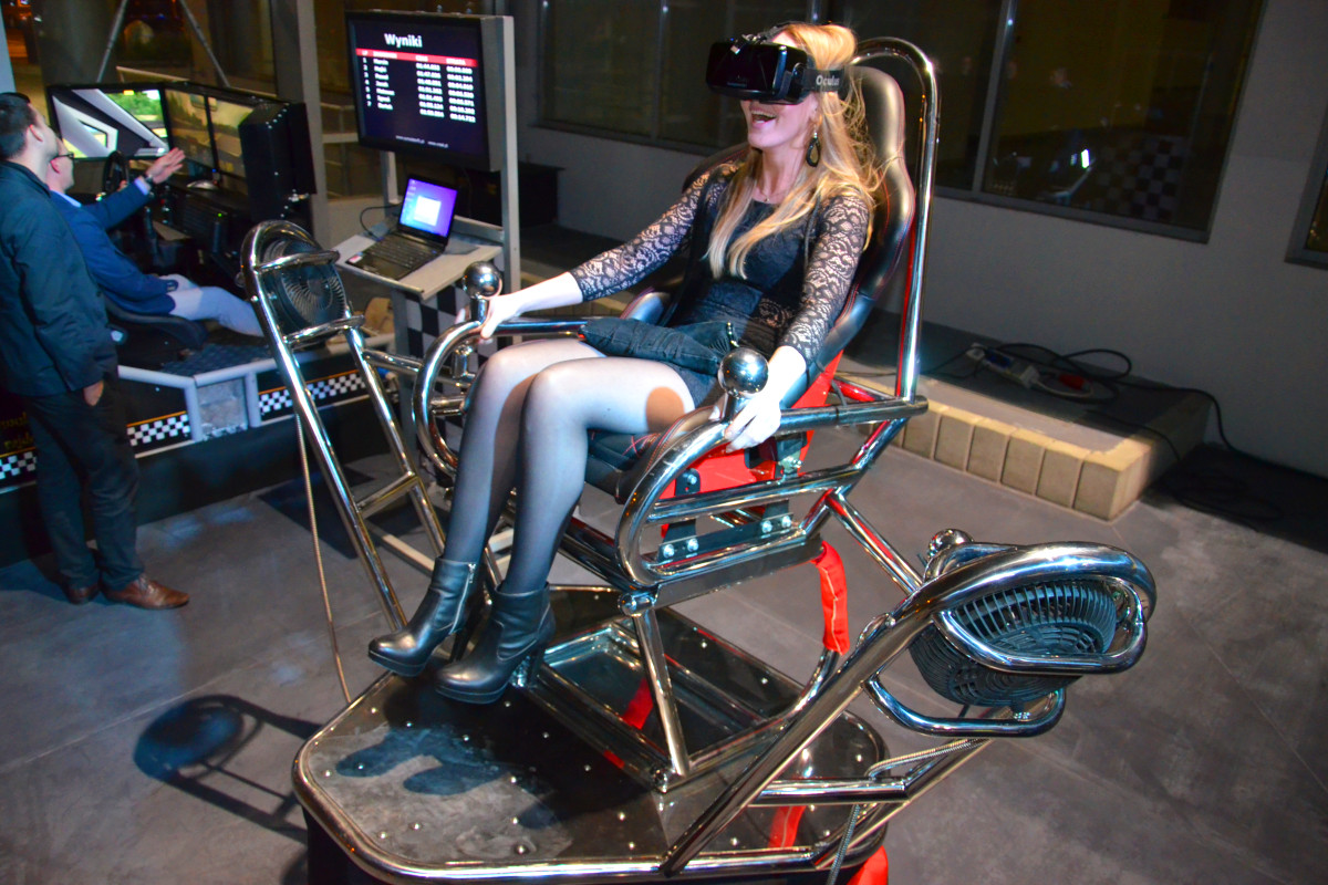 Rollercoaster 9D VR wynajem