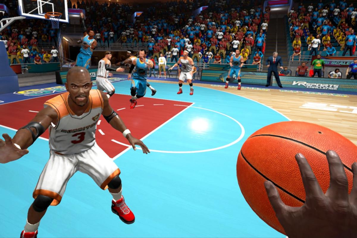 Sporty Letnie VR - 9 - basketball vr symulator koszykówki