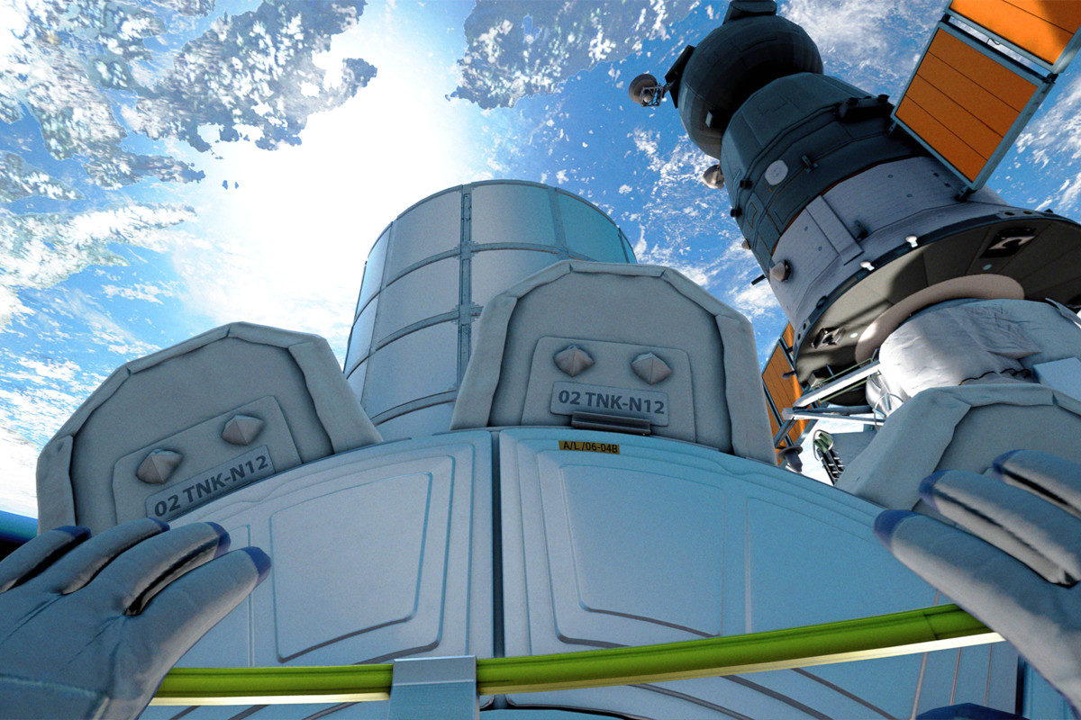 Stanowisko VR Kosmiczne - 5 - symulator statku kosmicznego wynajem
