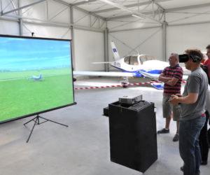 Stanowisko VR Lotnicze - 2 - modele RC na impreza lotnicza