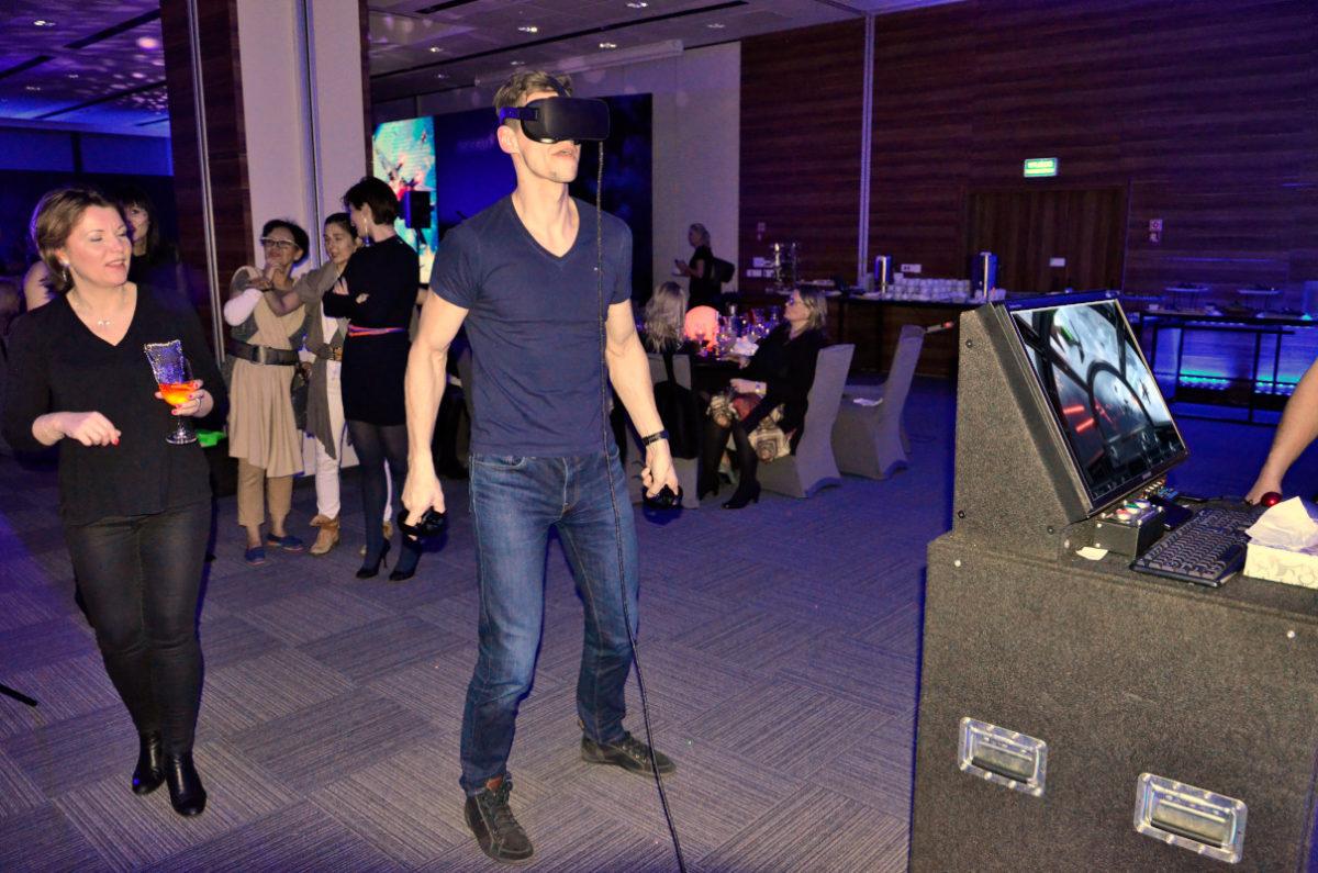 Stanowisko VR Lotnicze - 6 - HTC vive na event kraków