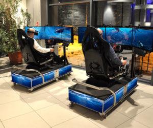 Symulator Batyskafu VR - 1 - atrakcje morskie na event wynajem