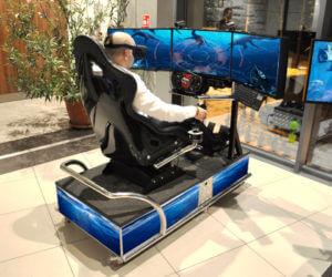 Symulator Batyskafu VR - 2 - gogle vr wynajem kraków