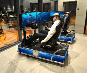 Symulator Batyskafu VR - 3 - wynajem atrakcji vr na targi