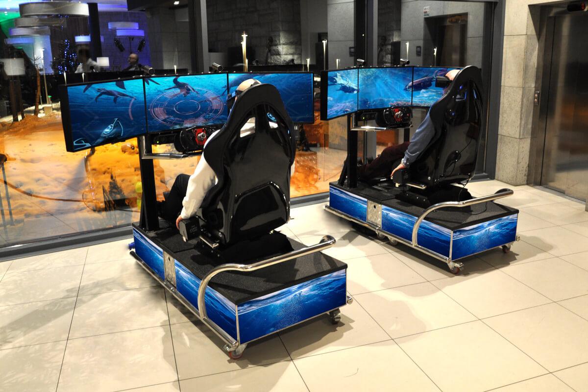 Symulator motorówki VR