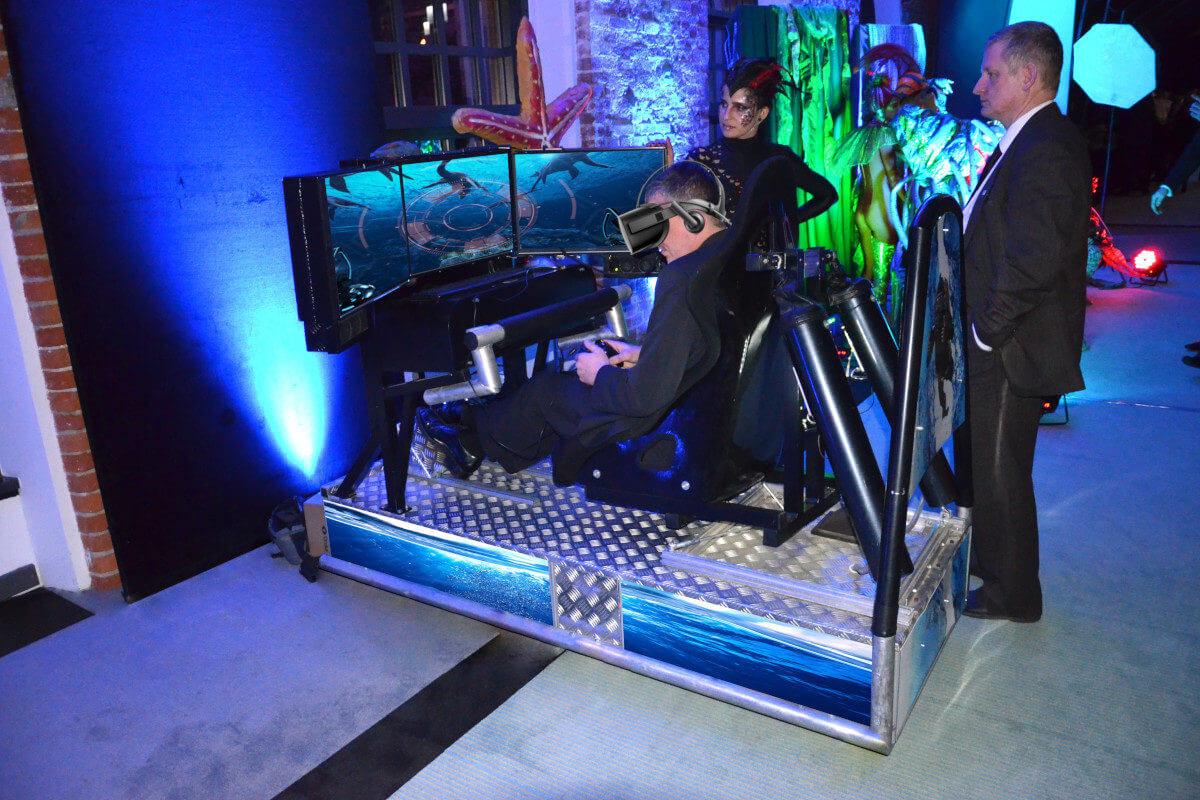 Symulator Batyskafu VR - 5 - urządzenia vr na konferencje cena