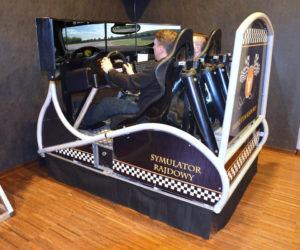 Symulator DAKAR WRC - 3 - symulator dla dwóch osób na imprezę