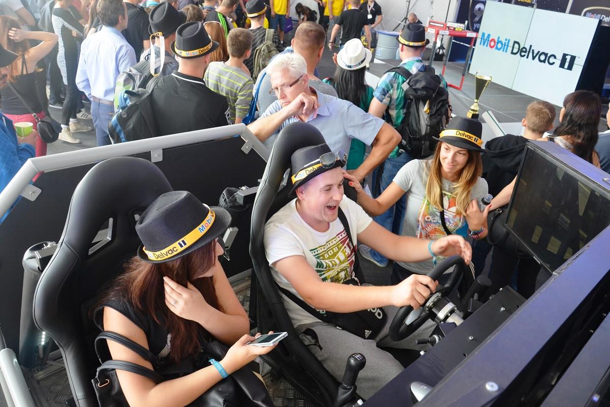 symulatory VR atrakcje rajdowe