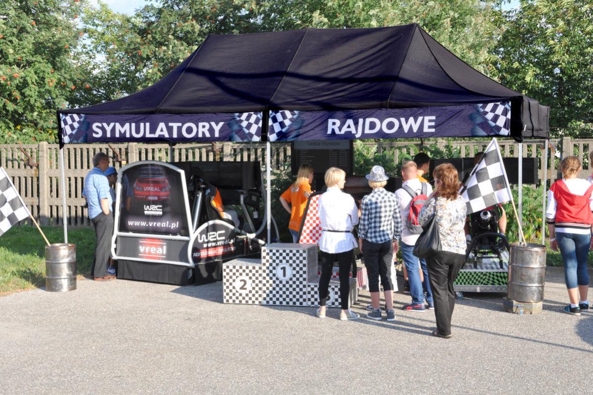 Symulator DAKAR WRC - 5 - ruchomy symulator rajdowy wynajem