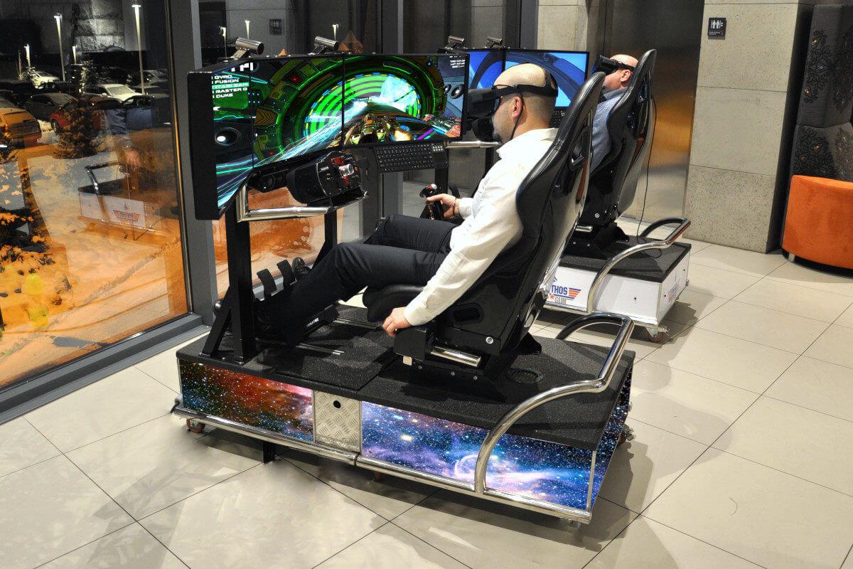 Symulator Kosmiczny VR 5D - 1 - ruchoma platforma wynajem