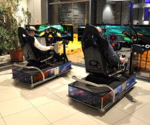 Symulator Kosmiczny VR 5D - 2 - gogle vr wynajem na targi expo