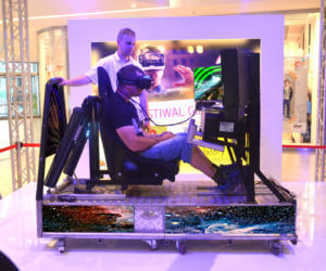 Symulator Kosmiczny VR 5D - 4 - atrakcje kosmiczne na konferencje