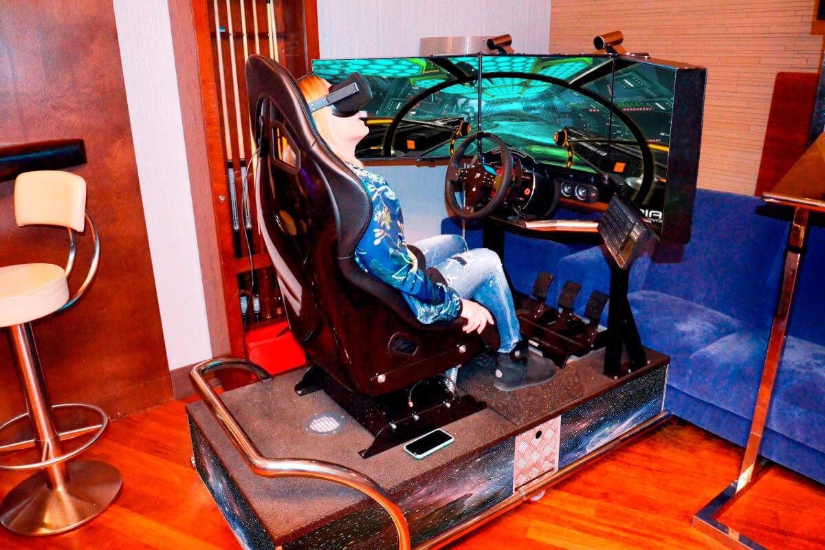 Symulator Kosmiczny VR 5D - 5 - urządzenia na targi wynajem wrocław