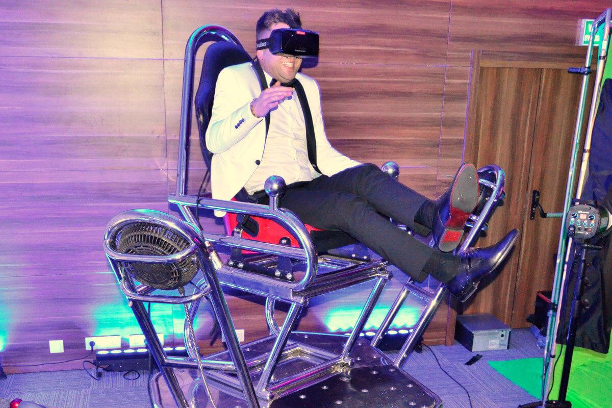 Symulator Kosmiczny VR 9D - 2 - ciekawe atrakcje na imprezę