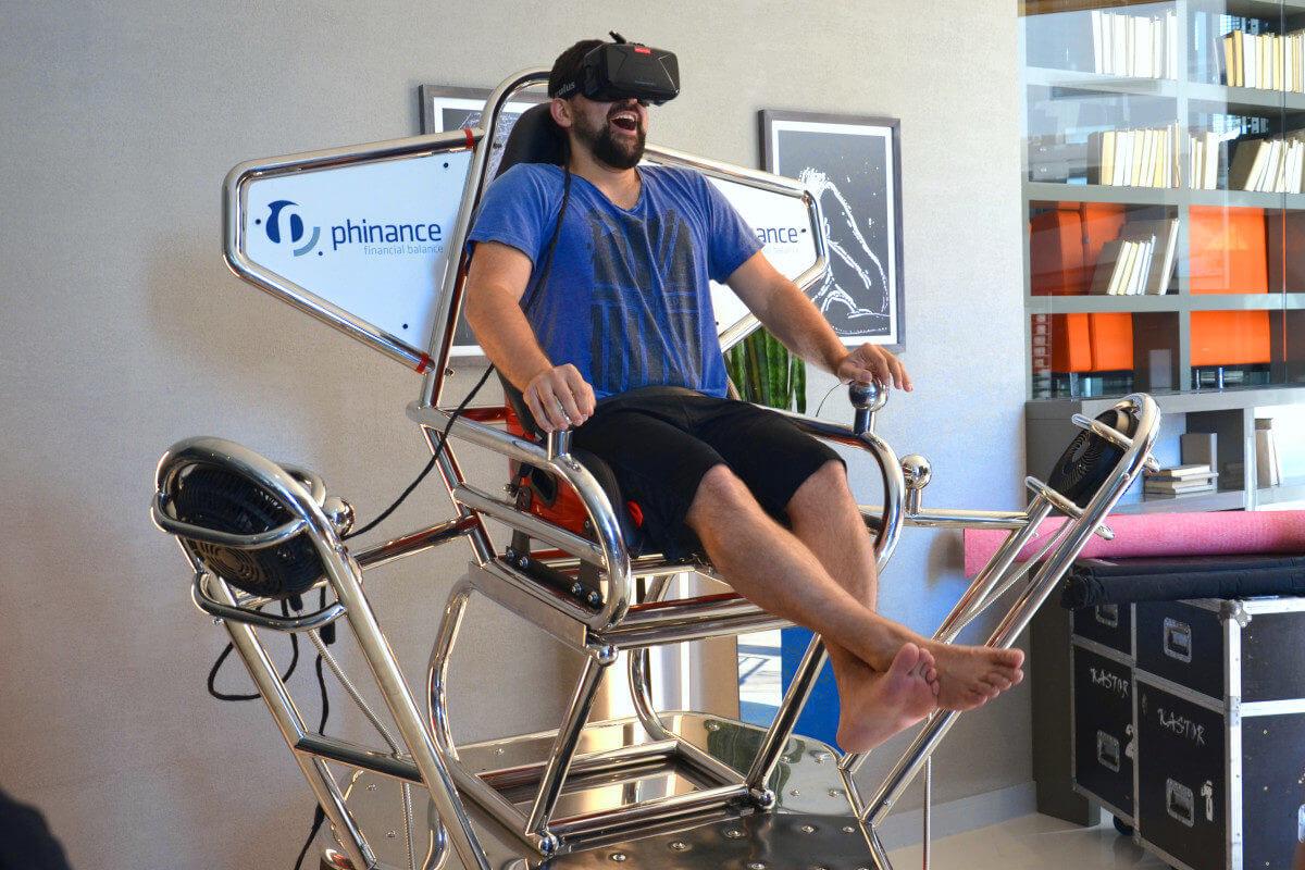 Symulator Kosmiczny VR 9D - 3 - profesjonalny symulator gogle vr wynajem