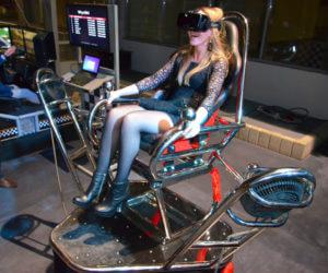 Symulator Kosmiczny VR 9D - 4 - gwiezdne wojny gogle vr