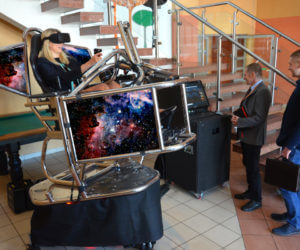 Symulator Kosmiczny VR 9D - 6 - symulator statku kosmicznego na event