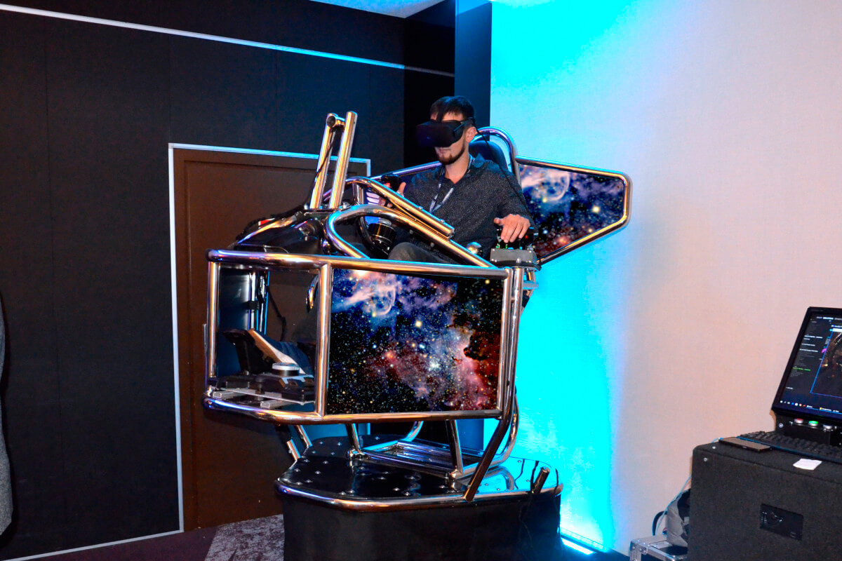 Symulator Kosmiczny VR 9D - 8 - nowości atrakcje na event cena
