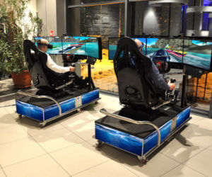 Symulator Motorówki VR - 1 - symulatory morskie wynajem