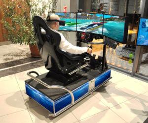 Symulator Motorówki VR - 2 - gogle vr wynajem warszawa