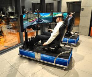 Symulator Motorówki VR - 3 - symulator statku wynajem na imprezę