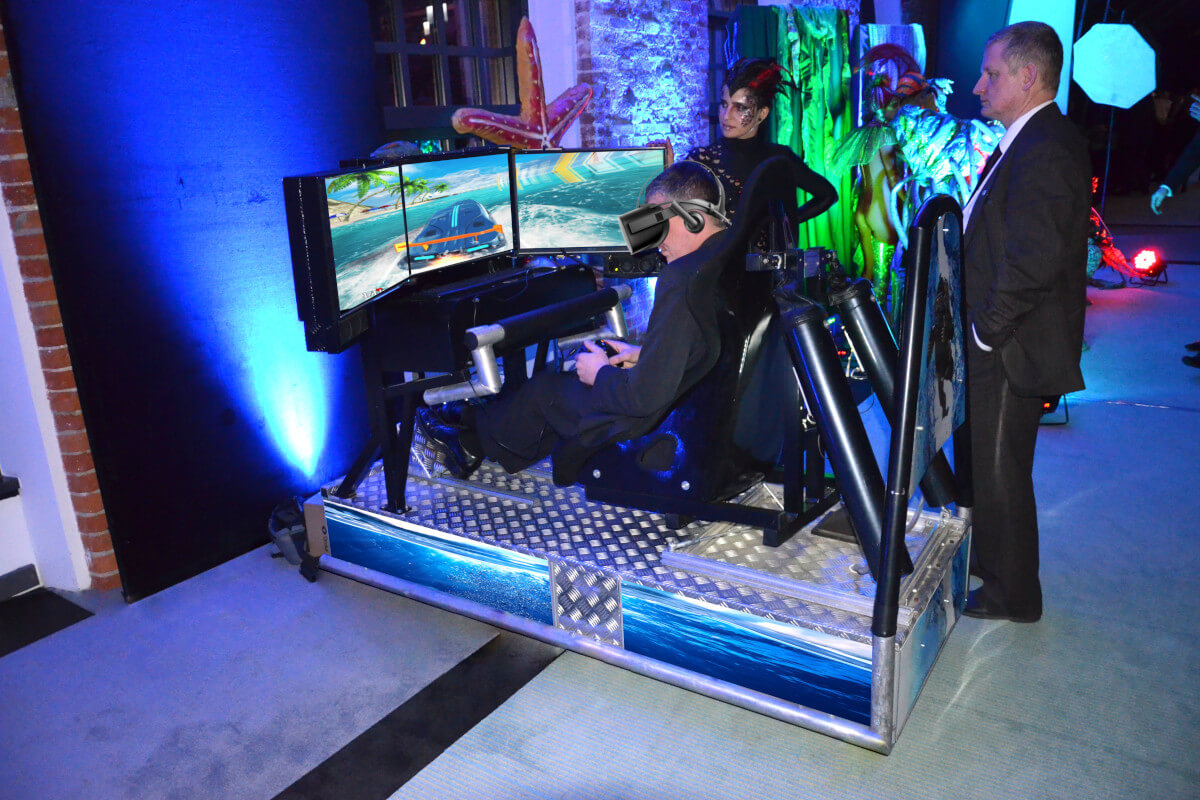 Symulator Motorówki VR - 5 - atrakcje na konferencje wynajem