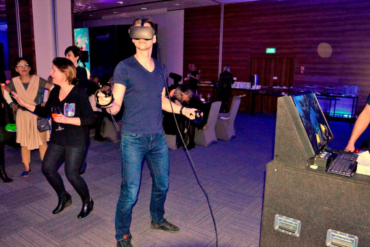 Symulator Nurkowania VR - 2 - atrakcje na event firmowy
