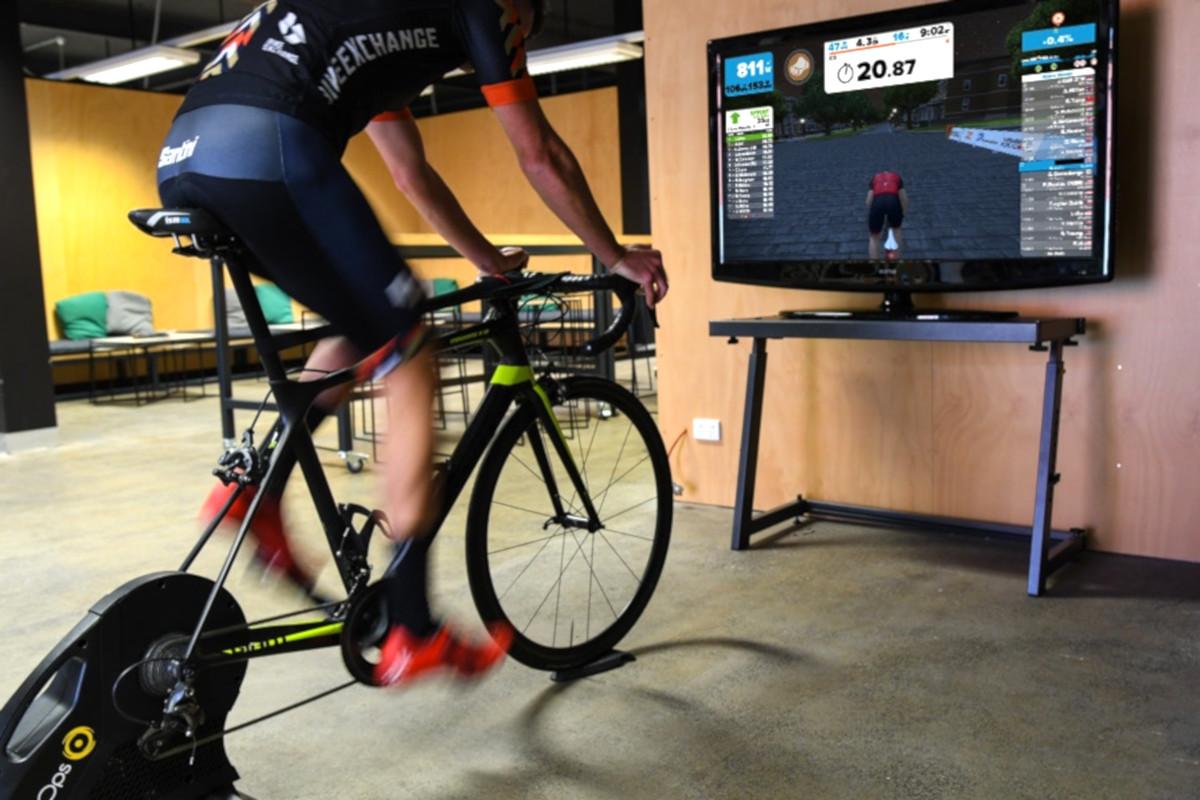 Symulator roweru VR
