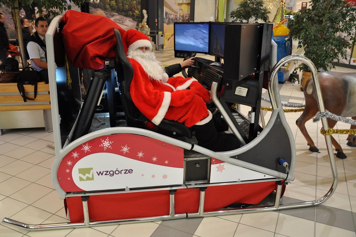 Symulator Sań Świętego Mikołaja Święty VR wynajem