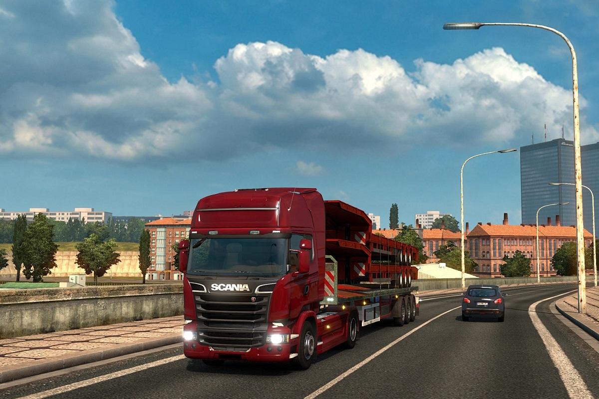 Symulator jazdy TIR cieżarówką autobusem wynajem 4