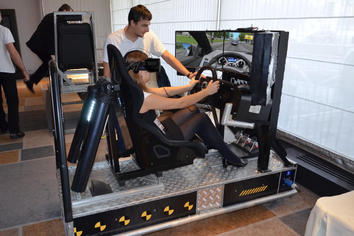 Symulator jazdy VR City - 1 - symulator jazdy miejskiej wynajem