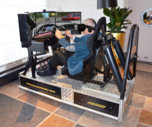 Symulator jazdy VR City - 3 - bhp jazdy zawodowy kierowca szkolenie