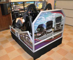 Symulator jazdy autobusem TIR wynajem imprezy - 10