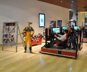 Symulator jazdy impreza WRC